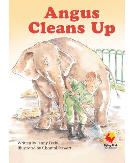 Angus Cleans Up