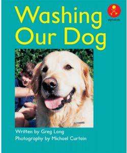 Washing Our Dog