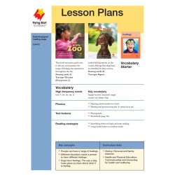 Lesson Plan - A Day At the Zoo |Look At My Dog LP