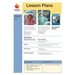 Lesson Plan - I Like the Weather |What's the Weather Today? LP