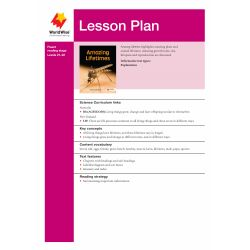 Lesson Plan - Amazing Lifetimes
