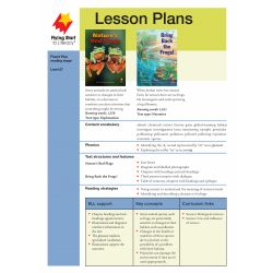 Lesson Plan - Nature's Red Flags | Bring Back the Frogs