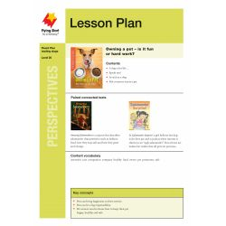 Lesson Plan - Owning a Pet: The Ups and Downs