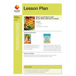 Lesson Plan - Food: What's Good? What's Bad?