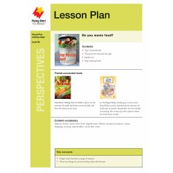 Lesson Plan - Stop Wasting Food