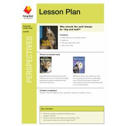 Lesson Plan - The Big, Bad Wolf: True or False?