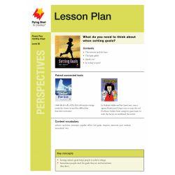 Lesson Plan - Setting Goals: What's Important? LP