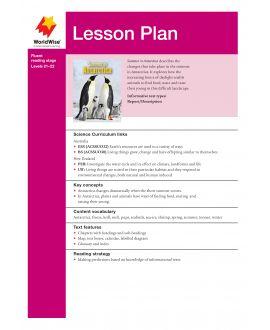 Lesson Plan - Summer in Antarctica