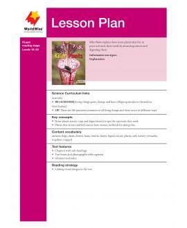 Lesson Plan - Killer Plants