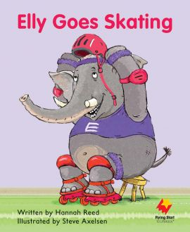 Elly Goes Skating