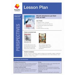 Lesson Plan - Hazardous Adventures: At What Cost?