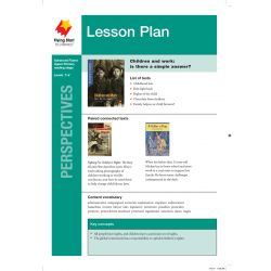 Lesson Plan - Children and Work: What Are the Issues?