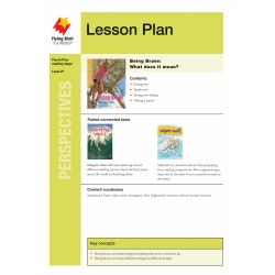 Lesson Plan - Being Brave: What Does it Mean?