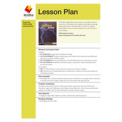 Lesson Plan - The Weather Today