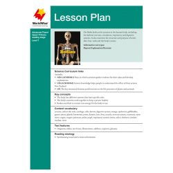 Lesson Plan - Our Bodies